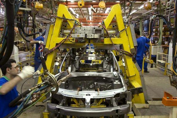 تولید خودرو در کشور 35درصد کاهش یافت