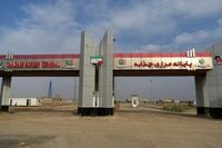 صادرات از مرز چذابه به عراق ادامه دارد