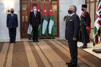 پایان التهاب در دربار اردن