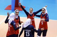 شکست دختران ایران برابر قهرمان جهان
