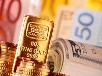 کاهش ارزش دلار قیمت طلا را بالا کشید/ احساس خطر سرمایهگذاران از تصمیم فدرال رزرو
