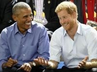 اوباما به نوه ملکه انگلیس مشاوره میدهد؟