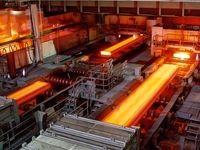 نمایش بخشی از فرآیند نورد گرم در صنایع فولاد مبارکه +فیلم