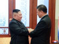 روایتی از سفر محرمانه رهبر کره شمالی به چین +تصاویر