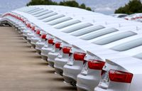 ثبت ۲۰۰۰سفارش خودرو خارجی در اولین روز سال میلادی
