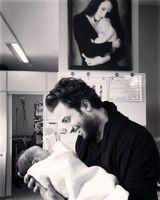سومین فرزند بنیامین بهادری به دنیا آمد +عکس