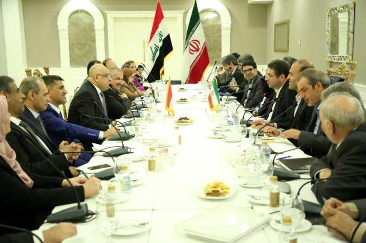 اجرای توافقات مشترک ایران و عراق منجر به رونق تولید و توسعه صادرات میشود/ افزایش مبادلات تجاری به 20میلیارد دلار تا سال1400