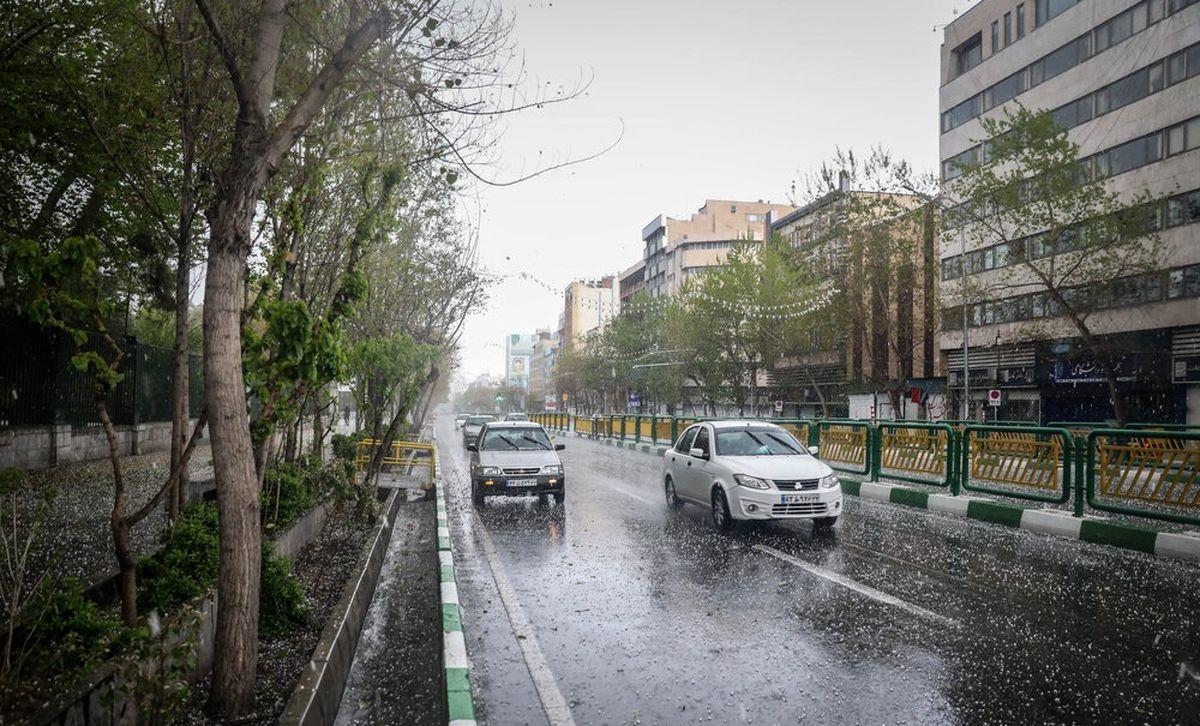 پیشبینی بارش شدید تگرگ در البرز