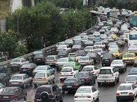 ترافیک نیمه سنگین در جاده کرج، چالوس و هراز