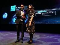 پیمان معادی از جشنواره ترکیهای جایزه گرفت +عکس