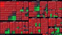 نمای پایانی بورس امروز/ بازار یکدست سرخپوش ماند