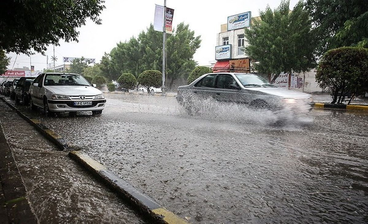 ورود سامانه بارشی قوی به کشور ، فردا