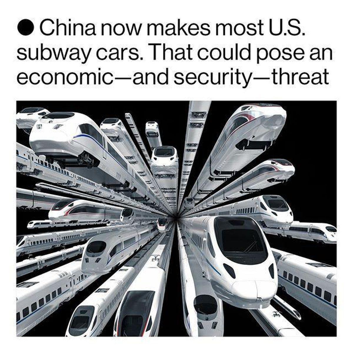 حاکمیت چین بر بازار خودروهای ریلی جهان