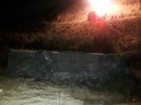 سقوط مرگبار اتوبوس مسافربری به دره جاجرود