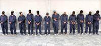 دالتونهای ایرانی بازداشت شده را ببینید +عکس