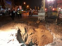 علت فرونشست خیابان مولوی مشخص شد +تکمیلی