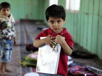 کودکان آسیب دیده در کشمیر +تصاویر