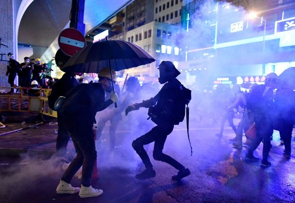 اعتصاب بیسابقه هنگ کنگ را فلج کرد