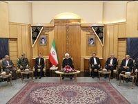 بدرقه رسمی روحانی و ترک تهران به مقصد مقر سازمان ملل +عکس