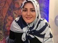تقاضای عجیب مجری تلویزیون از مشاور روحانی +عکس