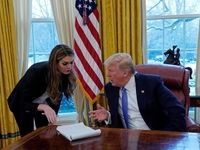 استعفای زن جنجالی کاخ سفید +تصاویر