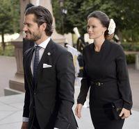 عروس جنجالی خاندان سلطنتی سوئد +تصاویر