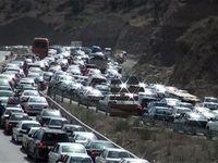 ترافیک پرحجم در ۱۰محور مواصلاتی