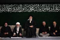 مراسم عزاداری شام شهادت حضرت فاطمه زهرا (س) برگزار شد +تصاویر