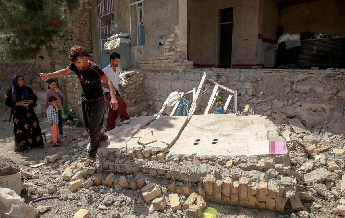 شرایط در مناطق زلزلهزده کرمانشاه عادی است