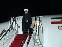 رییس جمهور چابهار را به مقصد تهران ترک کرد