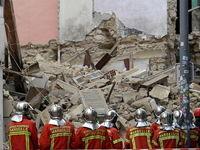 ریزش مرگبار ۲ساختمان در جنوب فرانسه