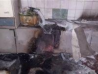 سوختن ۳مرد بر اثر انفجار در مغازه صافکاری +تصاویر