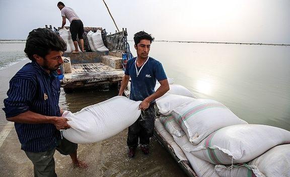 خسارت 40هزار میلیارد ریالی سیلاب خوزستان/ 13انشعاب از کرخه به سمت هورالعظیم بازگشایی شد