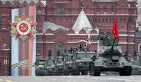 رژه روز پیروزی در مسکو +تصاویر