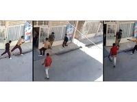 قتل با وینچستر در مشهد بخاطر دعوای دو کودک +فیلم