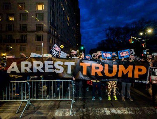 معترضین به ترامپ