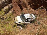 سقوط خودرو به عمق ۵۰۰متری