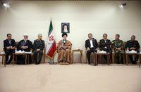 جلسه ویژه بررسی آخرین وضعیت مناطق سیلزده با حضور مقام معظم رهبری +تصاویر