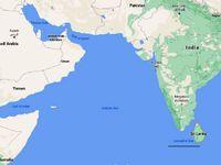 انفجار و آتشسوزی در نفتکش بزرگ هندی در آبهای سریلانکا