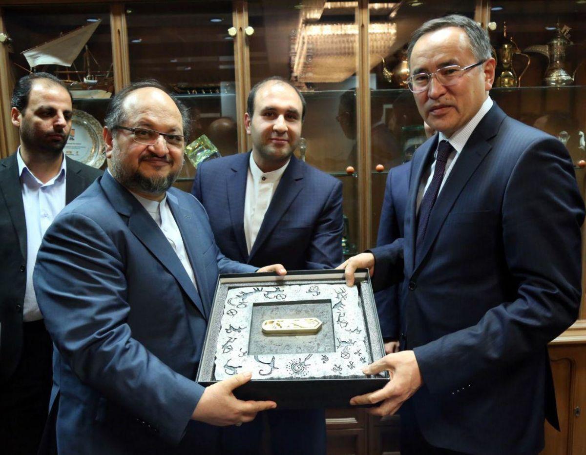 توافق ایران و قزاقستان برای گسترش روابط اقتصادی