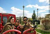 تهران گردی با اتوبوس گردشگری دوطبقه +تصاویر