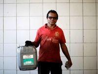 کمبود سوخت در برزیل +تصاویر