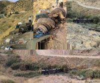 نقصفنی عامل سقوط مرگبار اتوبوس در دره جاجرود