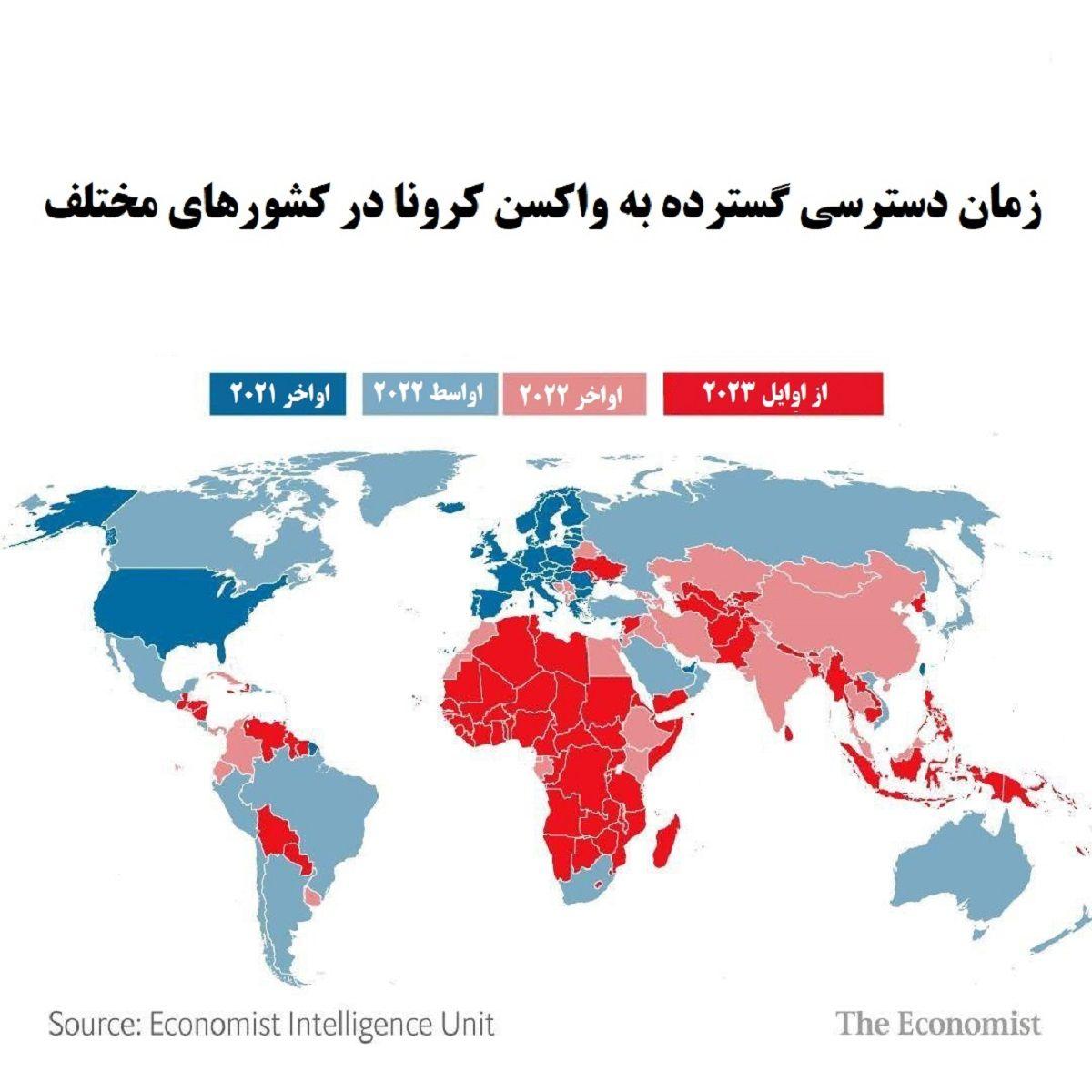 هشدار سازمان جهانی بهداشت در خصوص نابرابری توزیع واکسن/ واکسیناسیون در کشورهای فقیر چه زمانی انجام میشود؟