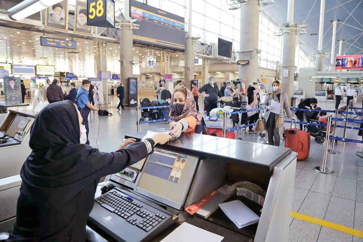 ریزش۹۶درصدی مسافران پروازهای خارجی