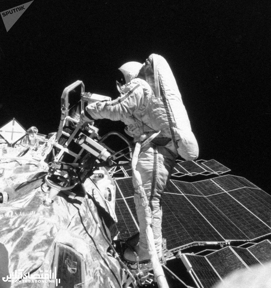 فضانورد روس سوتلانا ساویتسکایا