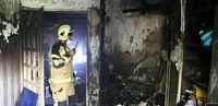 نجات ۱۲ نفر از میان آتش و دود در ملاصدرا +  عکس