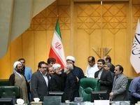 واکنش عارف به تمدید ریاست لاریجانی بر مجلس +تصاویر