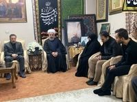 رییس جمهوری در منزل سردار شهید سپهبد سلیمانی حضور یافت