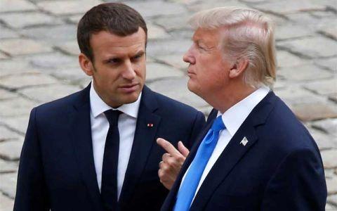ایستادگی فرانسه در مقابل تحریمهای آمریکا علیه ایران